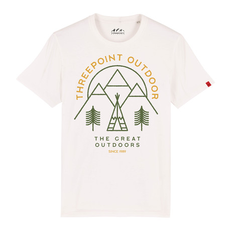 Great Outdoors T-Shirt // Off White (S)