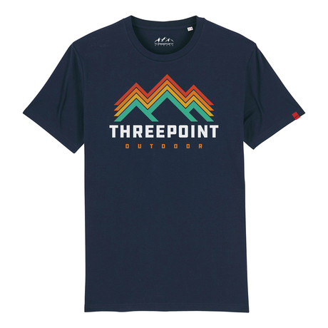 Retro Logo T-Shirt // French Navy (S)
