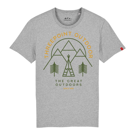 Great Outdoors T-Shirt // Gray Heather (S)