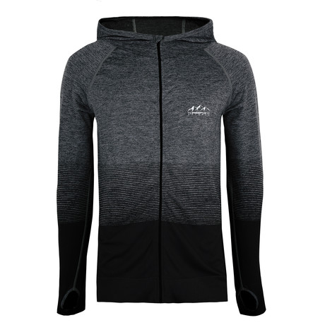 Belford Active Hoodie // Dark Gray Transition (S)