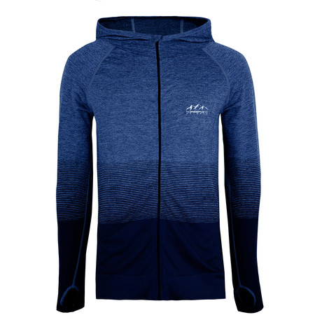 Belford Active Hoodie // Blue Transition (S)