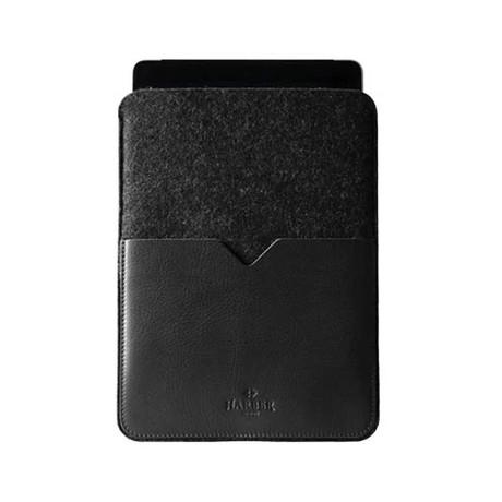 Black Edition // Leather Tablet Sleeve (Black)