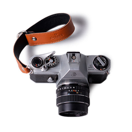 Leather Slide Camera Wrist Strap