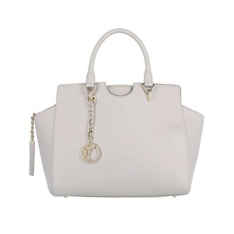 Versace // Satchel Handbag // Gray