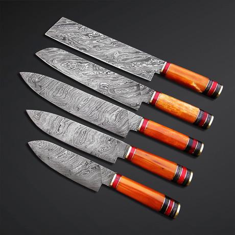 Comfy Round Range Knives // Set of 5