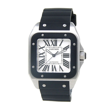 Cartier Santos 100 Automatic // W20121U2 // Pre-Owned