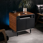 Sobro Side Table (Black // Black)