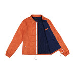 Pray Coach Jacket // Orange (XL)