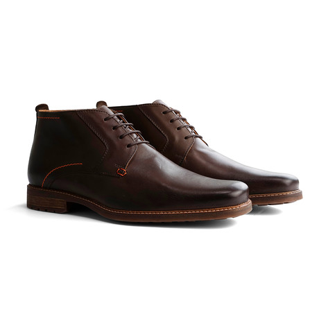 Libeskind Leather Shoe // Dark Brown (Euro: 40)