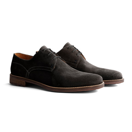 Eiffel Suede Shoe // Dark Gray (Euro: 40)