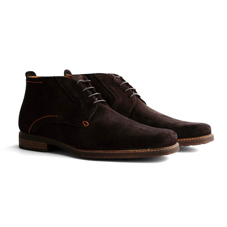 Libeskind Suede Shoe // Dark Brown (Euro: 40)