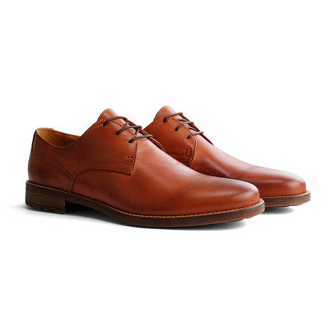 Eiffel Leather Shoe // Cognac (Euro: 40)