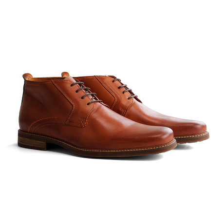 Libeskind Leather Shoe // Cognac (Euro: 40)