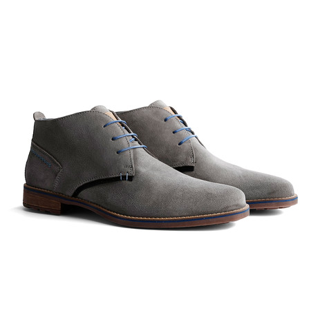 Piano Suede Shoe // Light Gray (Euro: 40)