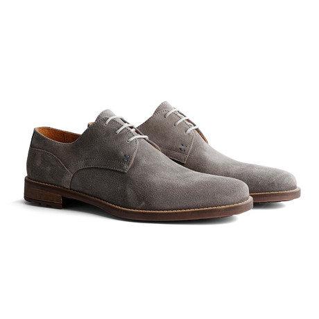 Eiffel Suede Shoe // Light Gray (Euro: 40)