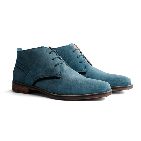 Piano Suede Shoe // Light Blue (Euro: 40)