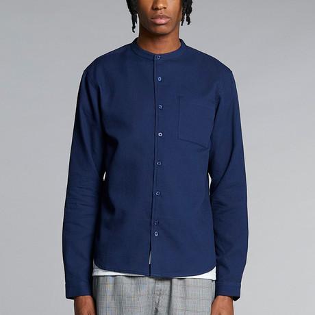 Gaston Shirt // Navy (XS)