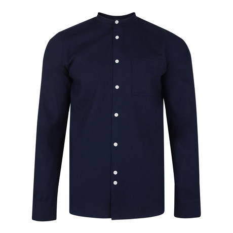 Gaston Shirt // Navy (XS)