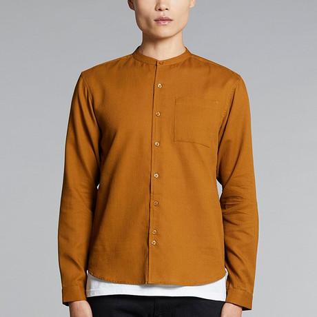 Gaston Shirt // Tobacco (XS)