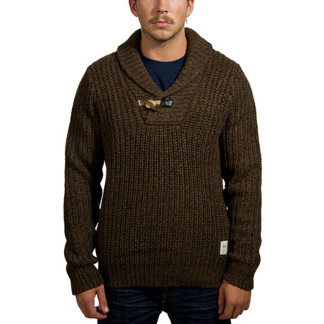 Boreal Shawl Collar Sweater // Sandstorm (XS)