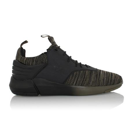 Motus Sneaker// Olive + Black (US: 7)