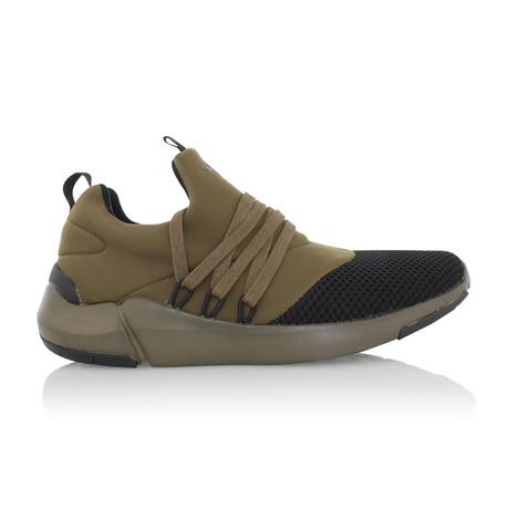 Matera Sneaker // Olive + Black (US: 7)