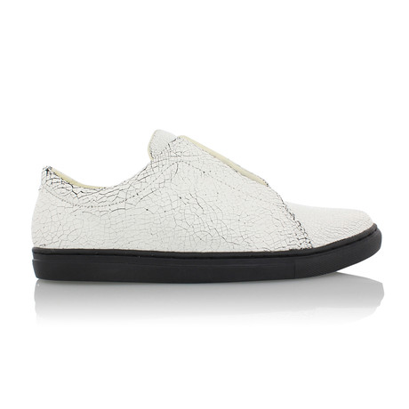 Turino Sneaker // White + Black (US: 7)