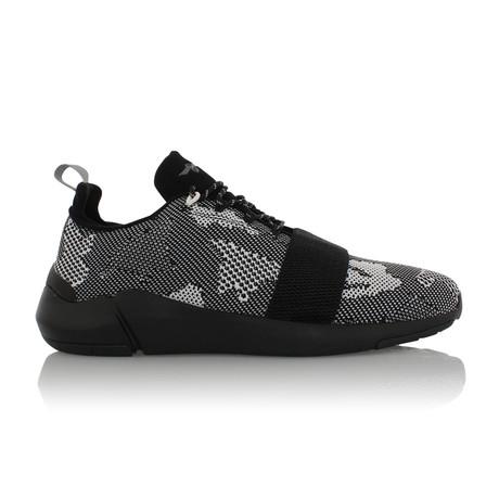 Ceroni Sneaker // Black + Camo (US: 7.5)