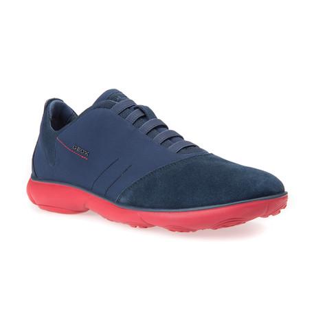 Nebula B Sneaker // Blue + Red (Euro: 39)