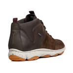 Nebula A High Top Sneaker // Dark Coffee + Coffee (Euro: 42.5)