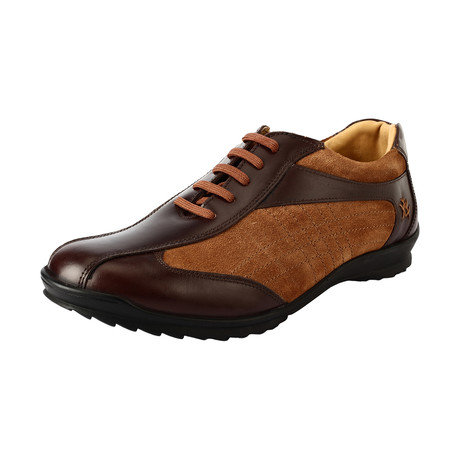Murphy Sneakers // Brown + Beige (US: 7)