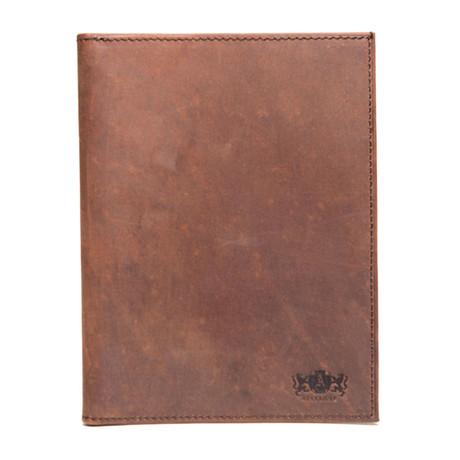 Antique Passport Holder (Brown)