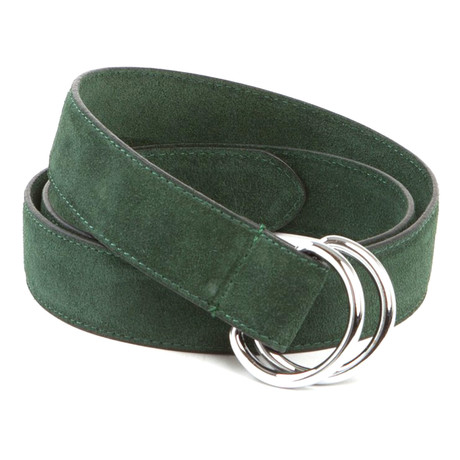 """Executive D-Ring Belt // Forest Green (42"""")"""