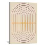 "Gradient Posters Pastel I // Izabela Pichotka (12""W x 18""H x 0.75""D)"