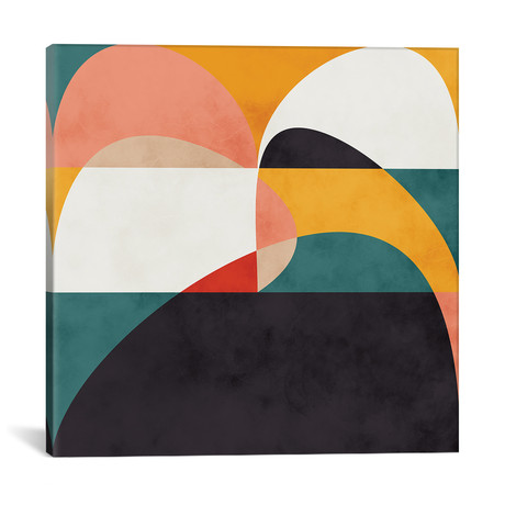 "Modern Shapes VI // Ana Rut Bré (12""W x 12""H x 0.75""D)"