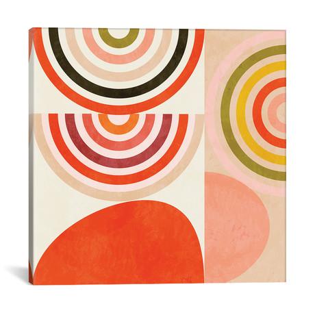"Shapes Abstract III // Ana Rut Bré (12""W x 12""H x 0.75""D)"