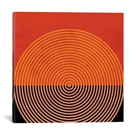 "Lines & Shapes I // Ana Rut Bré (12""W x 12""H x 0.75""D)"