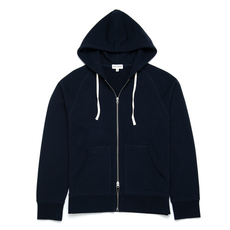 Hooded Sweatshirt // Navy (XS)