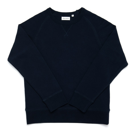Crew Neck Sweatshirt // Navy (XS)