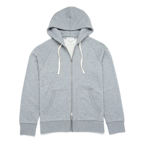Hooded Sweatshirt // Light Heather Melange (XS)