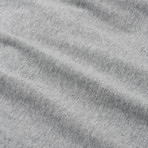 V-Neck T-Shirt // Gray // Set of 3 (S)