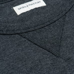 Crew Neck Sweatshirt // Charcoal (S)