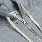 Hooded Sweatshirt // Light Heather Melange (XL)