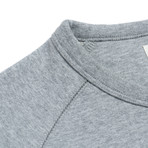 Crew Neck Sweatshirt // Light Heather Melange (S)