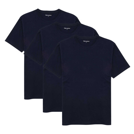 T-Shirt // Navy // Set of 3 (XS)