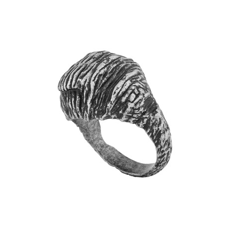 The Rock Ring // Silver (Size 6)