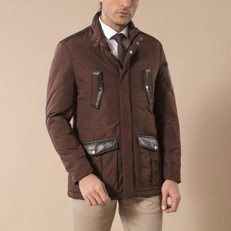 Mads Coat // Brown (Euro: 44)