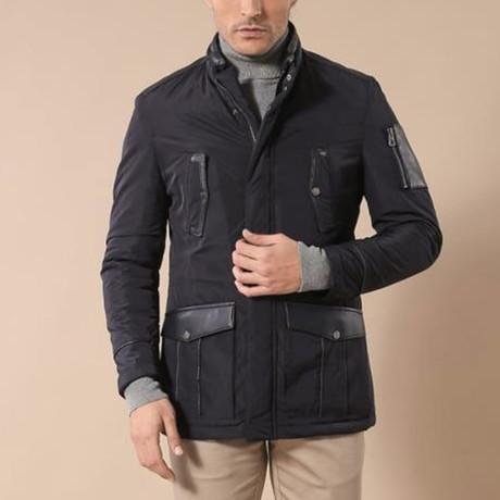 Oscar Coat // Navy (Euro: 44)