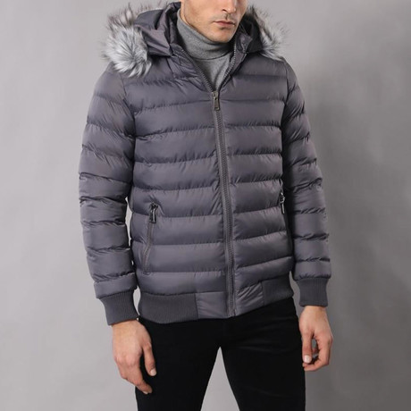 Salah Coat // Gray (Euro: 44)