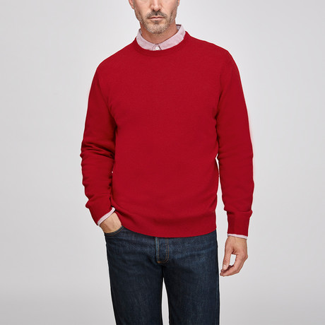 Cashmere Crew // Red (S)